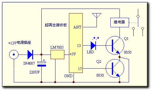 单相双值电容异步电动机手柄接线法