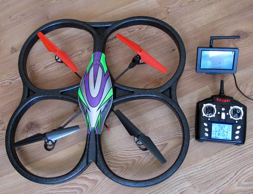 伟力v262四轴飞行器增加fpv飞行功能遥控飞机,遥控机