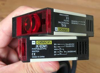 产品4:20米红外对射型光电开关(继电器驱动输出)