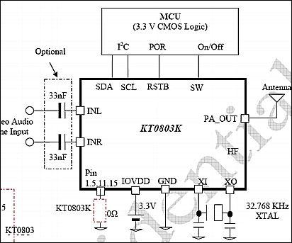 电路,配合普通的调频立体声接收机就可实现高保真的