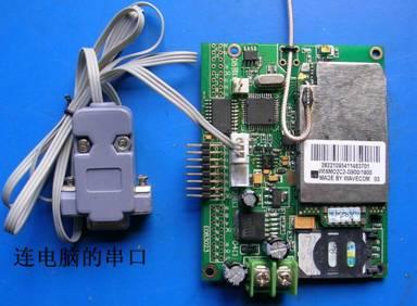 再分别连接到gsm控制卡的gnd接线柱和每块led单元板